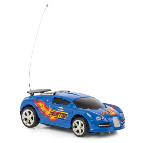 REMOTE CONTROL CAN RACER BLUE
