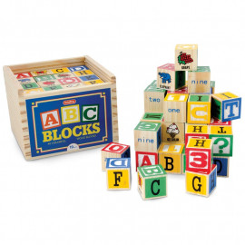 ALPHABET WOOD BLOCKS