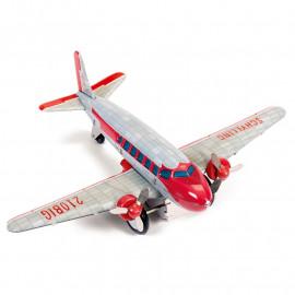 Model metalowy samolotu DC3 - Dc Airplane