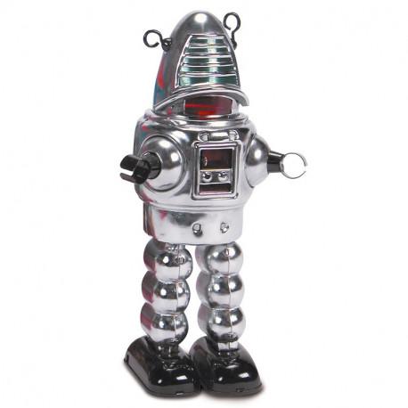 Chrome Planet Robot