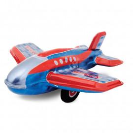 Blaszany samolocik z napędem