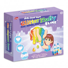 Masa własnej roboty Puszysta Brokatowa - Make Your Own Glitter Fluffy Slime