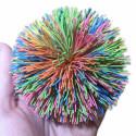 fuzzee ball – wielokolorowa piłeczka koosh
