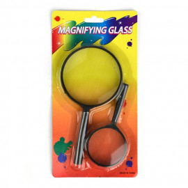 MAGNIFYING GLAS 2pcs 75/50mm