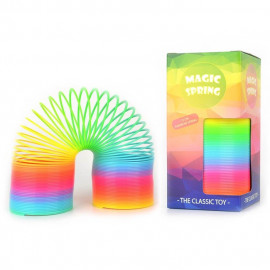 SPRING RAINBOW PLASTIC 75X150mm