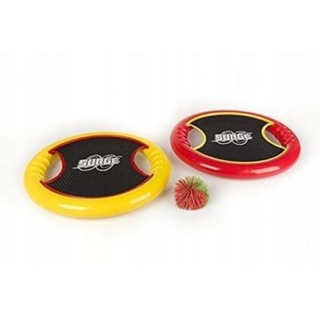 2 trampoliny dyski z piłeczką koosh