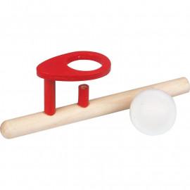 Drewniana Dmuchajka - Unosząca się piłeczka