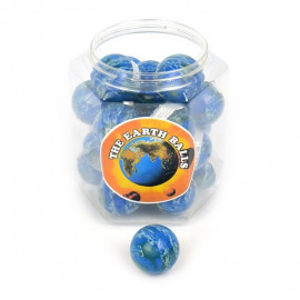 BOUNCING BALL EARTH CLOUDS 49mm