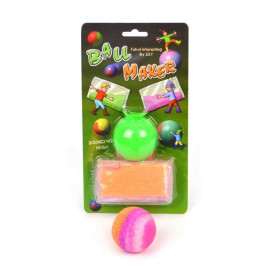 BOUNCING BALL DIY 3ass 1+4pcs 5.5cm