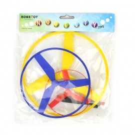 FLYING SAUCER 3pcs 2ass 18cm