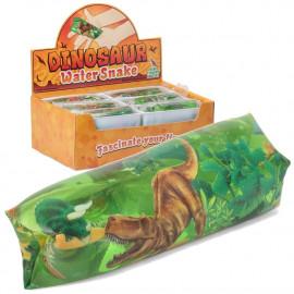 Wąż wodny z dinozaurem