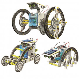 SOLAR ROBOT KIT 14in1 31.5cm