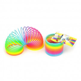 SPRING RAINBOW PLASTIC 95mm
