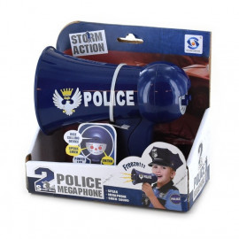 MEGAPHONE POLICE b/o 16x14cm