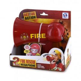 MEGAPHONE FIRE RESCUE b/o 16x14cm