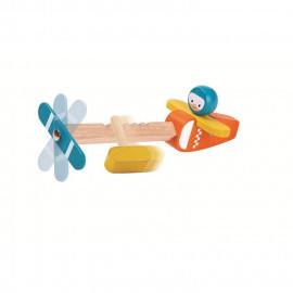 Drewniany samolot Spin N Fly
