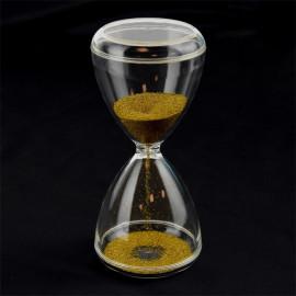 SAND TIMER GOLD 1min 15cm