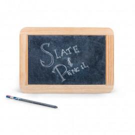 Tradycyjna tablica z ołówkiem tablet przeszłości pierwszy