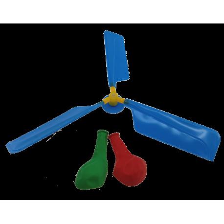 Balonowy helikopter