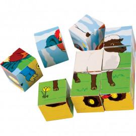 Puzzle kostki – Farma
