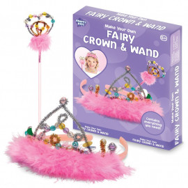 MAKE YOUR OWN FAIRY CROWN AND WAND
