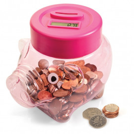 COIN COUNTING PIGGY BANK