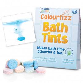 Kolorowe tabletki do kąpieli