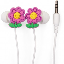 FLOWER EARPHONES