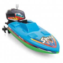 Nakręcana łódź motorowa