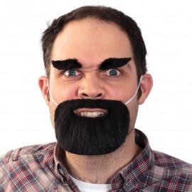 Sztuczna broda i brwi