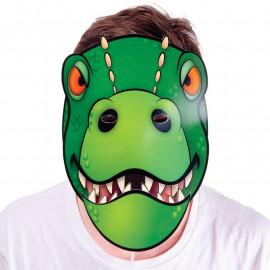 Ruchoma maska dinozaura