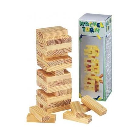 Drewniana gra dla Dzieci - Wieża - MINIjenga