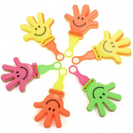 SMILER HAND CLAPPERS - PK6