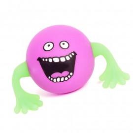 Świecąca piłka gniotek z rączkami