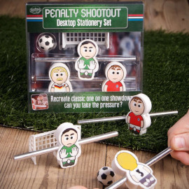 PENALTY SHOOTOUT STATIONERY SET
