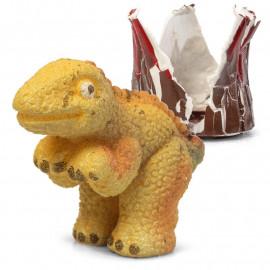 Wykluwający się, rosnący Dinozaur z wulkanu