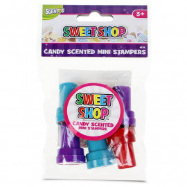 Kolorowe stempelki zapachowe Sweet Shop – 6 sztuk