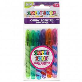 Mini Długopisy Sweet Shop 6szt.