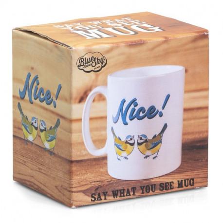 Say What You See Mug- Tits