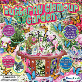 Butterfly Glamour Garden Dome Terrarium