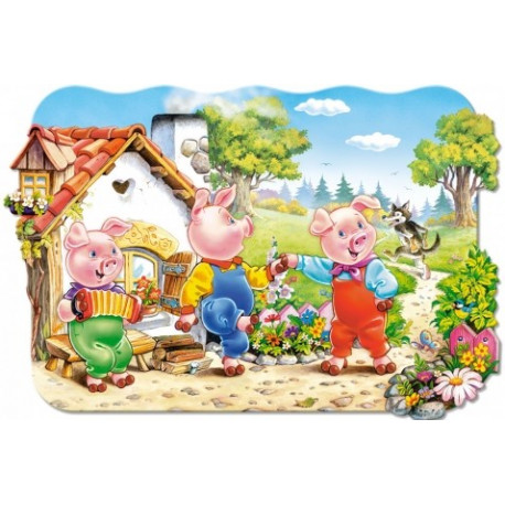 Trzy świnki – Puzzle