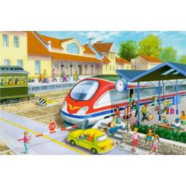 Stacja Kolejowa – Puzzle