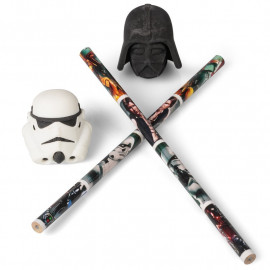 STAR WARS 3D PENCIL TOPPER SET