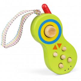 Drewniany telefon komórkowy