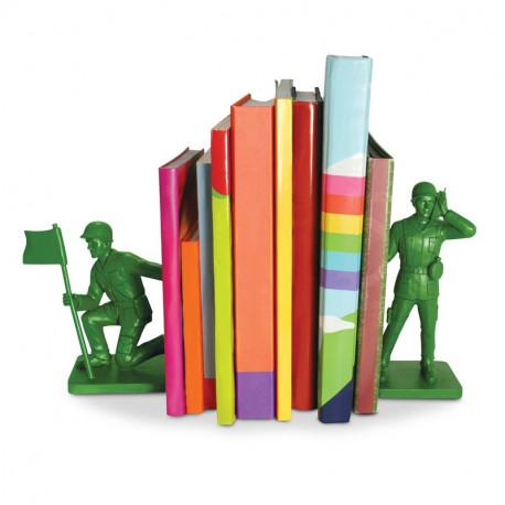 Żołnierzykowe podpórki do książek - Toy Soldier Bookends