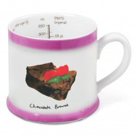 RECIPE MUG - CHOCOLATE BROWNIE
