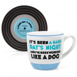 L&M CUP AND SAUCER - A HARD DAYS NIGHT