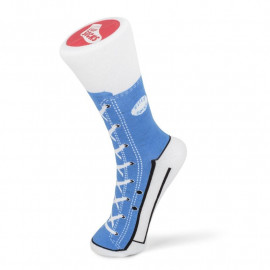 SNEAKER SLIPPER SOCKS BLUE SIZE 1-4 S/O