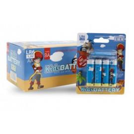 Baterie Alkaliczne Paluszki AA – 4szt – Z PIRATEM