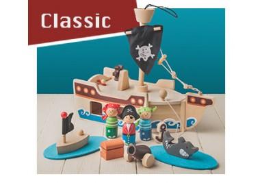 Zabawki klasyczne drewnine dla dzieci Hurtownia